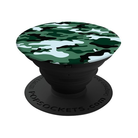 Poignée de téléphone PopSockets Dark Green Camo