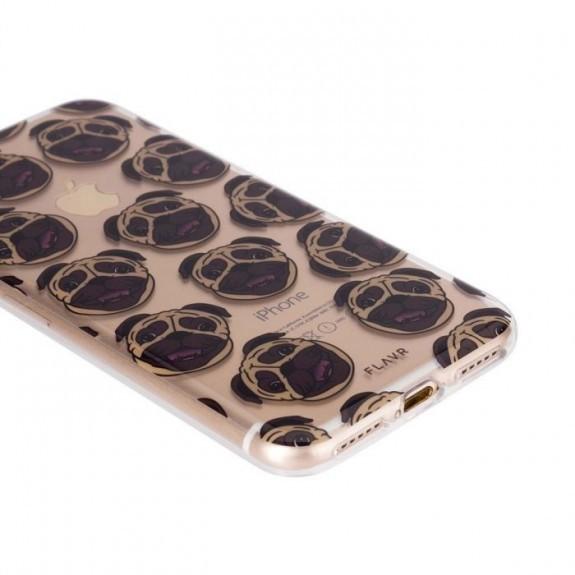 Coque de protection pour smartphones Flavr Pugs
