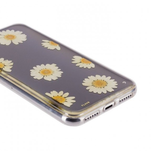 Coque de protection pour smartphones Flavr Real Flower Daisy