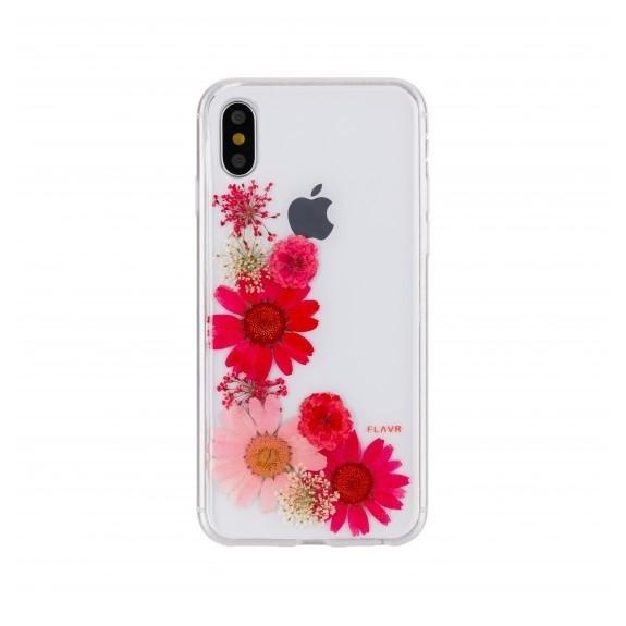 Coque de protection pour smartphones Flavr Real Flower Gloria