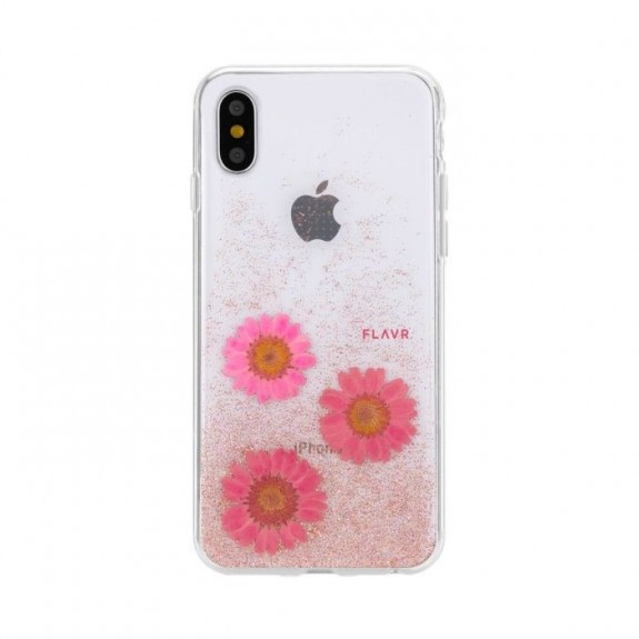 Coque de protection pour smartphones Flavr Real Flower Gloria