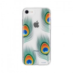 Coque souple Flavr plumes