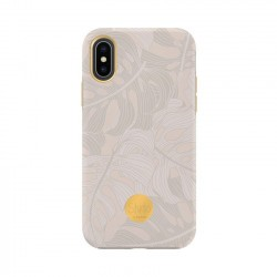 Coque rigide Powder Leaves Flavr
