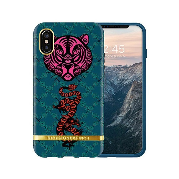 Coque de protection pour smartphones Richmond & Finch Tiger and Dragon