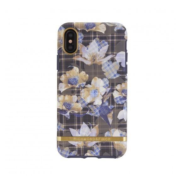 Coque de protection pour smartphones Richmond & Finch Floral Checked