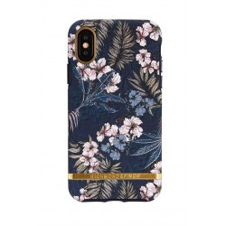 Coque rigide contour silicone Richmond & Finch Jungle Fleurie