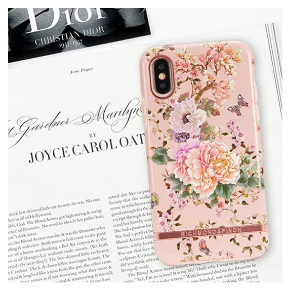 Coque de protection pour smartphones Richmond & Finch Peonies and Butterflies