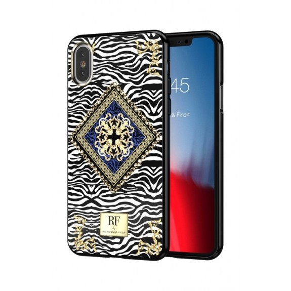 Coque de protection pour smartphone Richmond & Finch Zebra Chain