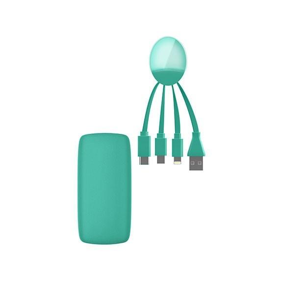 Pack câble multi-connecteurs et batterie externe 5000mAh