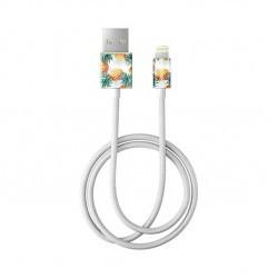 Câble tressé Lightning motif ananas - 1m