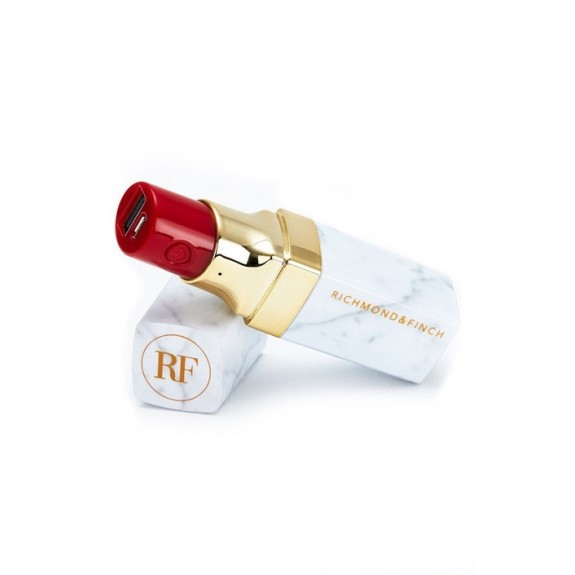 Batterie externe pour smartphones Richmond & Finch Lipstick Powerbank
