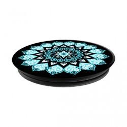 Popsockets motifs mandala bleu