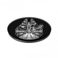 Popsockets motifs falcon noir