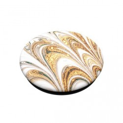 Popsockets motifs ripple doré