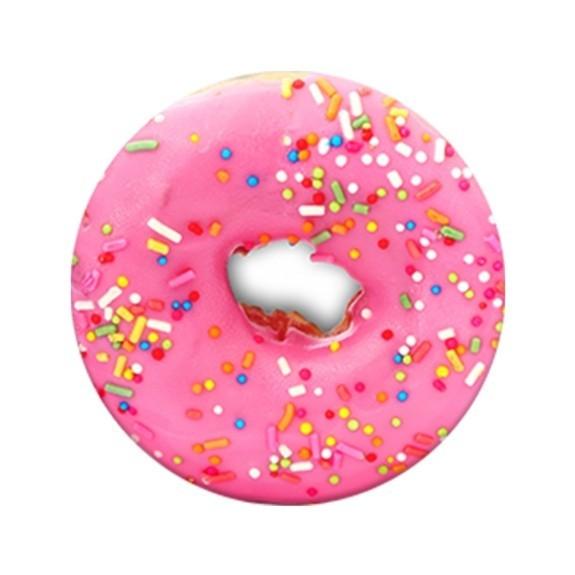 Poignée de téléphone PopSockets Black Pink Donut