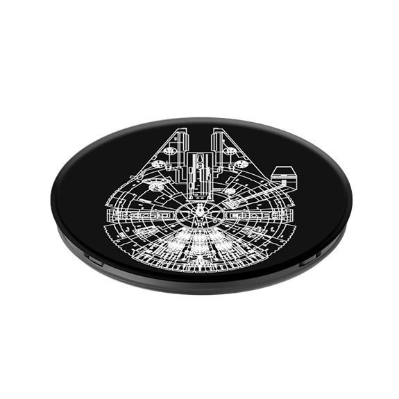 Poignée de téléphone PopSockets Falcon noir