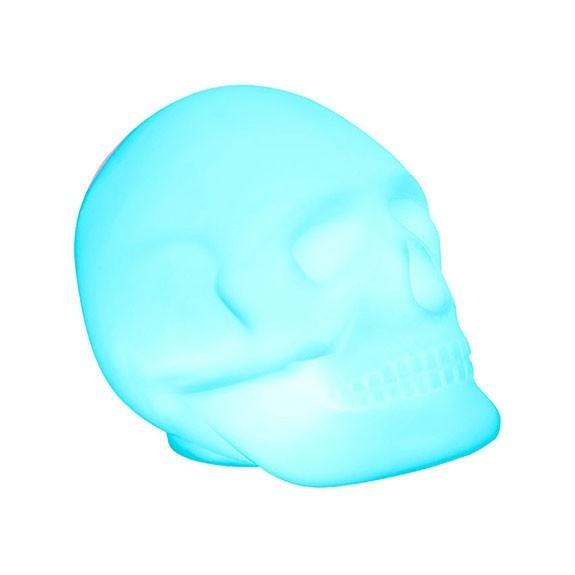 Enceinte Bluetooth lumineuse Skull