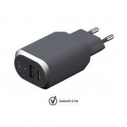 Chargeur 2 Ports USB-A et...
