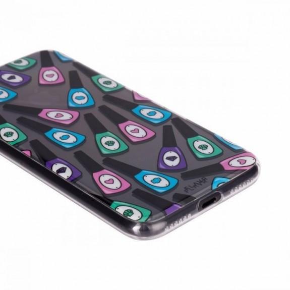 Coque de protection pour smartphones Flavr Nail Polish