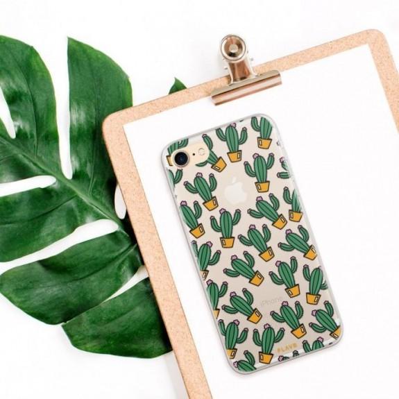Coque de protection pour smartphones Flavr Cactuses