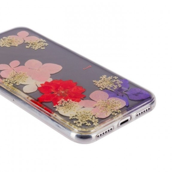 Coque de protection pour smartphones Flavr Real Flower Grace