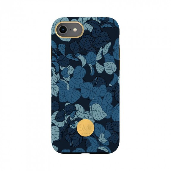 Coque rigide Navy Leaves Flavr
