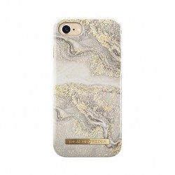 Coque Rigide Fashion Sparkle Greige Marble