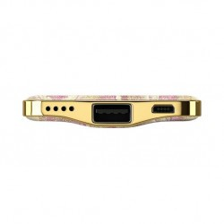 Batterie de secours 5000mAh motif golden blush marble