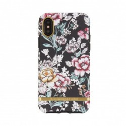 Coque Rigide Black Floral