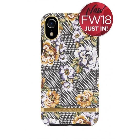 Coque de protection pour smartphone Richmond & Finch Floral Tweed