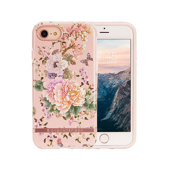 Coque de protection pour smartphones Richmond & Finch Peonies and Butterflies