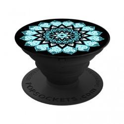 Poignée de téléphone PopSockets Mandala bleu