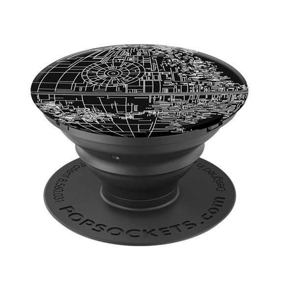 Poignée de téléphone PopSockets Star black