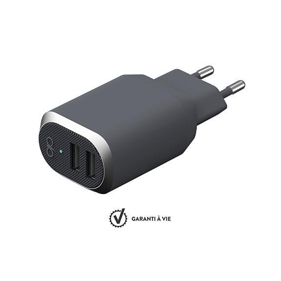 Base de chargeur 2 ports USB-A Force Power