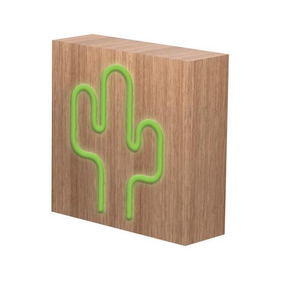 Enceinte Induction Néon Cactus L