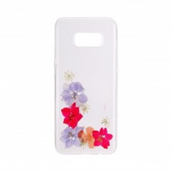 Coque Rigide Real Flower...