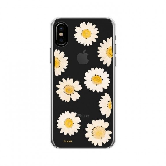 Coque de protection pour smartphones Flavr Real Flower Daisy