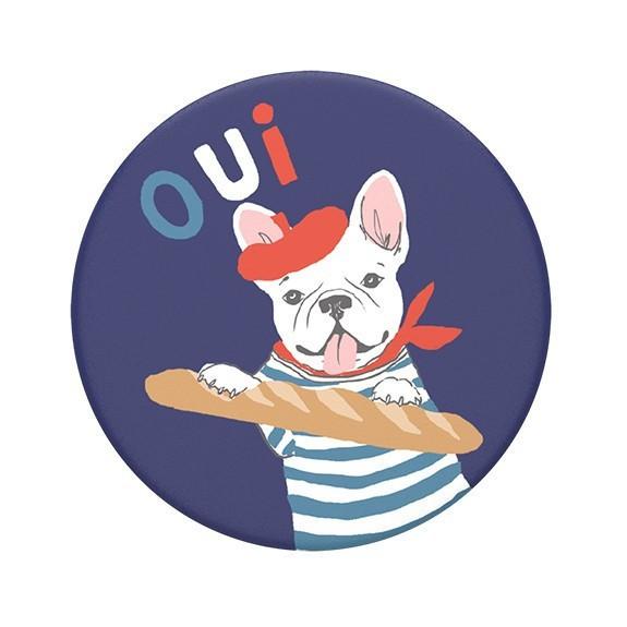 Poignée de téléphone PopSockets Frenchie