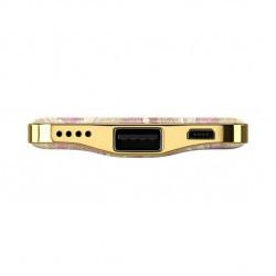 Batterie de secours 5000mAh motif golden blush marble
