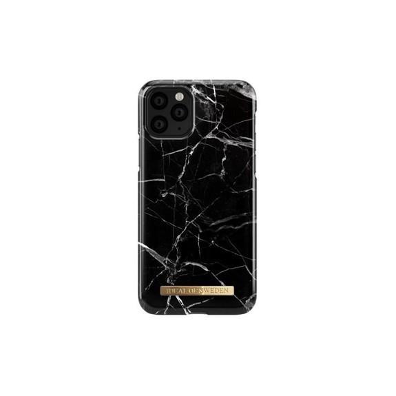 Coque Rigide Fashion Black Marble Gold Details iDeal Of Sweden