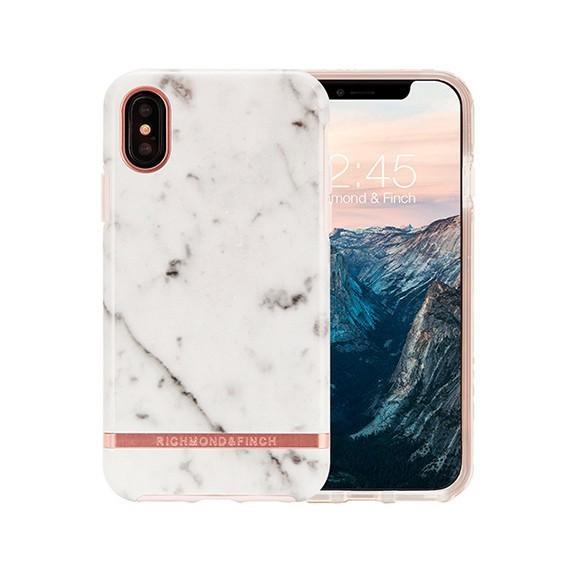 Coque de protection pour smartphones Richmond & Finch White Marble