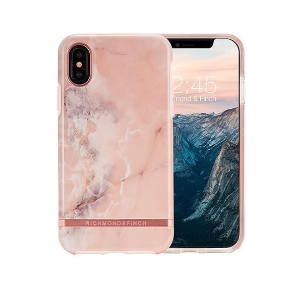 Coque de protection pour smartphones Richmond & Finch Pink Marble