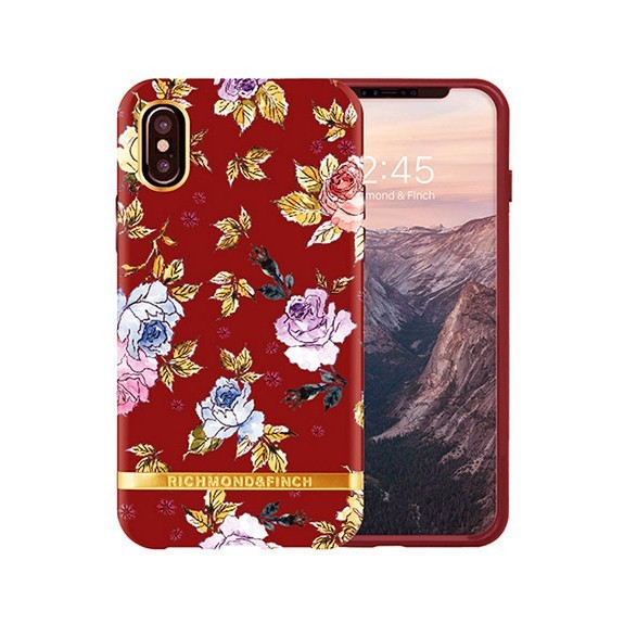 Coque de protection pour smartphones Richmond & Finch Red Floral