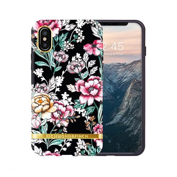 Coque de protection pour smartphones Richmond & Finch Black Floral