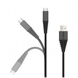 Câble Renforcé Micro USB - 1m