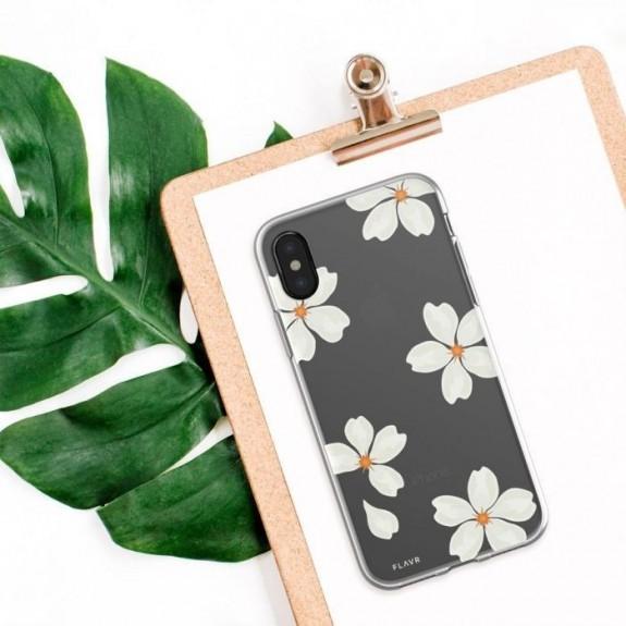 Coque de protection pour smartphones Flavr White Petals