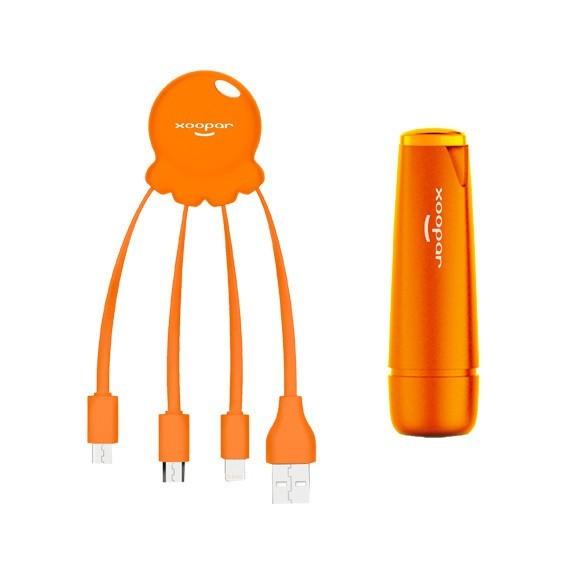 Pack câble multi-connecteurs et batterie externe