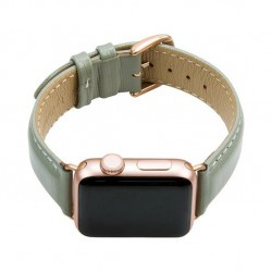 Bracelet cuir Apple Watch Mode Madrid