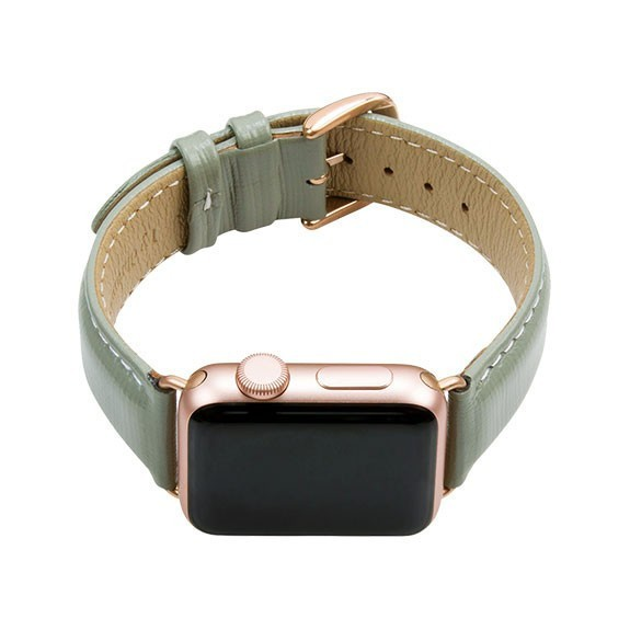Bracelet cuir Apple Watch Mode Madrid