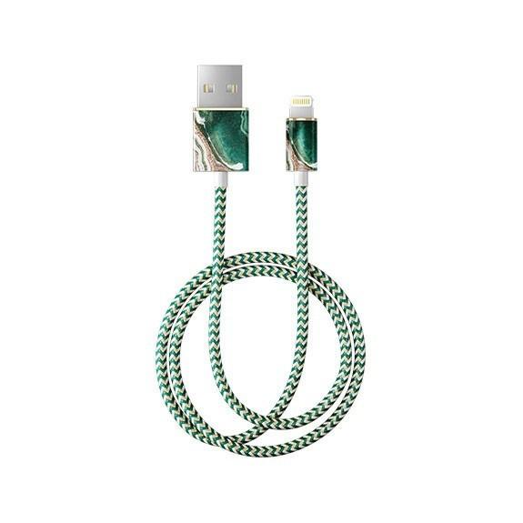 Câble tressé motif jade